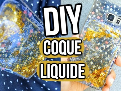 DIY Coque Liquide I Liquid Phone Cases