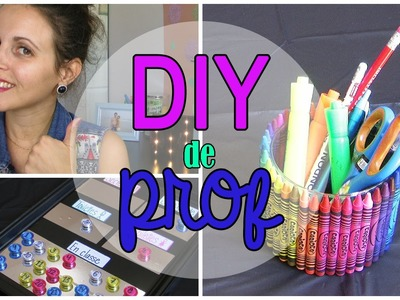 #DIY de PROF pour la classe