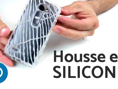 DIY : housse pour smartphone en silicone