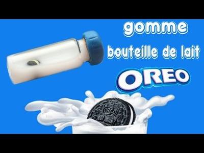 DIY | Mini gomme bouteille de lait oreo (liquide)