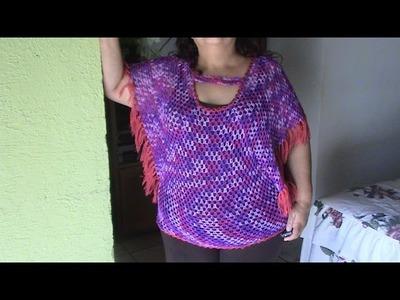 BLUSA FACIL 2 XL en crochet 2 de 3