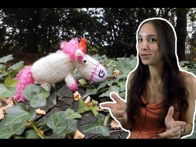 TUTO TRICOT : tricoter la licorne de Moi, moche et méchant. Knitting Fluffy unicorn Despicable me