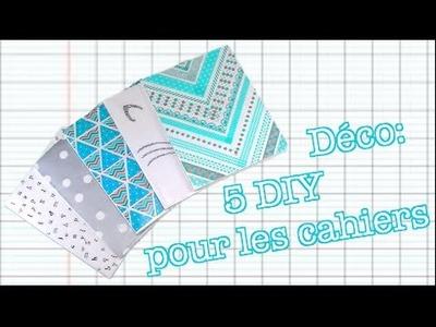 Déco: 5 DIY pour les cahiers