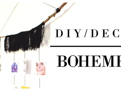 [ DIY. DECO] Un esprit bohème