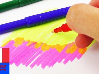 Stylo magique DIY à faire soi-même | Magic Pen qui changent de couleur | Pour dessiner