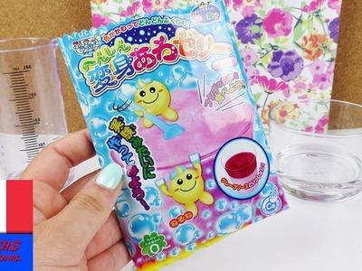 Popin' Cookin' DIY Bubble Jelly de Kracie | DIY Test d'un Kit | Démo Vidéo Asia Candy | Yummy