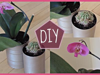 ♡DIY déco : Pots recyclés pour plantes ♡