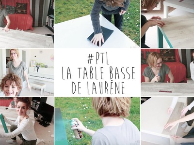 ♡ DIY . la Table Basse de Laurène (Pimp Ta Life #1) ♡