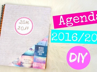 DIY AGENDA 2016 2017 INSPIRE PAR PINTEREST [ BACK TO SCHOOL ] #2 + concours