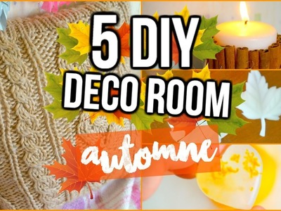 5 DIY Spéciale Automne I DIY Fall Room Decor