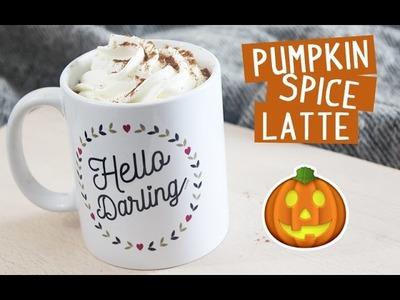 DIY - Pumpkin Spice Latte en 3 minutes