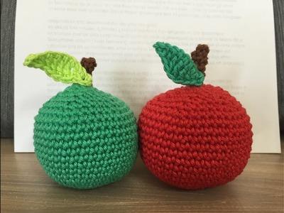 Tuto pomme au crochet