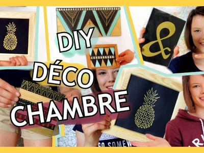 DIY DECO DE CHAMBRE TUMBLR |  ROOM DECOR IDEAS 2016 [français] - Claire