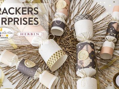 Tuto DIY : Crackers de Noël surprises - Noël Chic