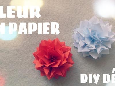Origami facile - Fleur en origami