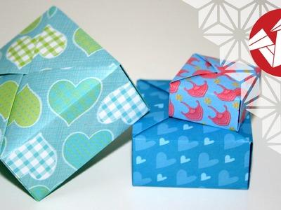 Tuto Origami - Boite cadeau [Senbazuru]
