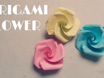 Origami facile - Fleur en papier