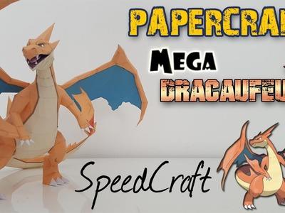Papercraft - MEGA Dracaufeu Y ! SpeedCraft de la réalisation du Pokémon ! Mega Charizard Y