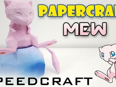 Papercraft - Mew - Le SpeedCraft de la réalisation !