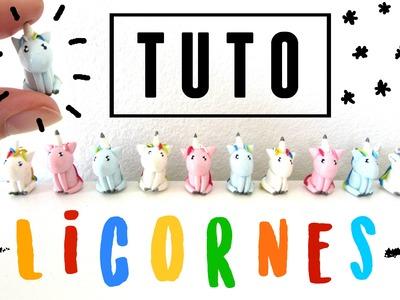 TUTO FIMO - LICORNES!