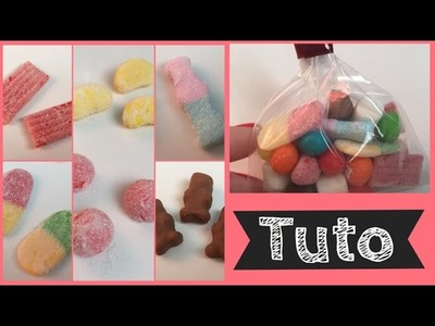[TUTO Fimo] Mes 8 bonbons préférés (Creavea)