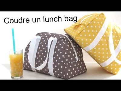 Coudre le lunch bag Elsa - sac isotherme