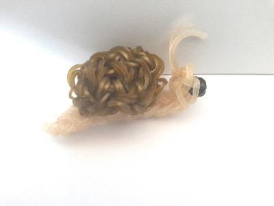 Tuto loom- Réaliser un escargot en élastiques- Niveau avancé