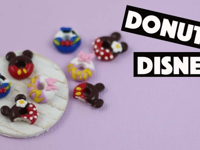 Donuts Disney ⎮Mickey, Minie, Donald et Daisy FIMO