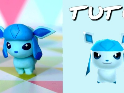 TUTO FIMO | Givrali. Glaceon (de Pokémon Rumble World)