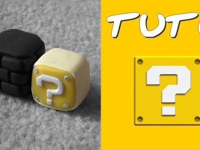 "TUTO FIMO | Le Cube ""?"" (de Mario) ◊ FACILE ◊"
