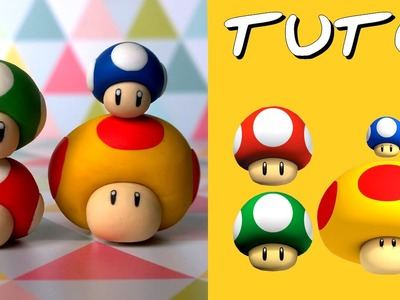 TUTO FIMO | Les 4 champi de Mario (4 tutoriels en 1 !)
