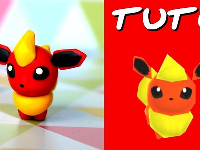 TUTO FIMO | Pyroli. Flareon (de Pokémon Rumble World)