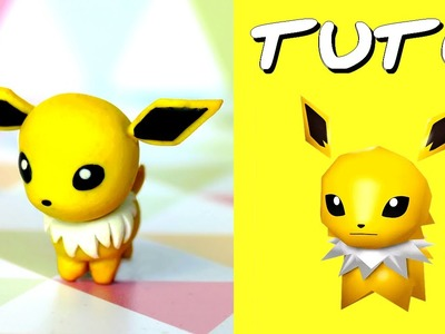 TUTO FIMO | Voltali. Jolteon (de Pokémon Rumble World)