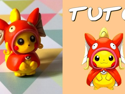 TUTO FIMO | Pikachu cosplay Magicarpe. Magikarp (de Pokémon)
