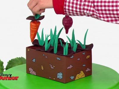 Art Attack - Le mémo jardin - Disney Junior - VF