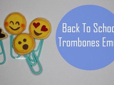 Back to school: Trombones Cookies Emoji
