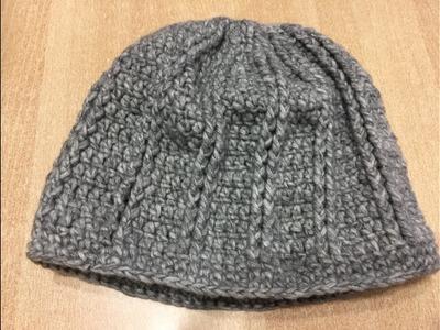 Tuto bonnet au crochet spécial gaucher