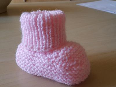 Chaussettes bébé facile