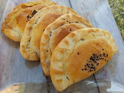 Chaussons à la viande hachée (soufflé tunisien). Tunisian Empanadas Recipe