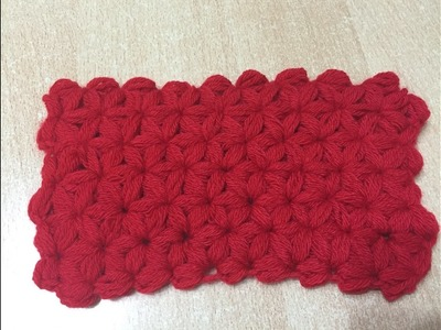 Tuto point Jasmin au crochet