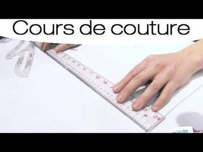 Couture : Dessiner le patron d'une jupe