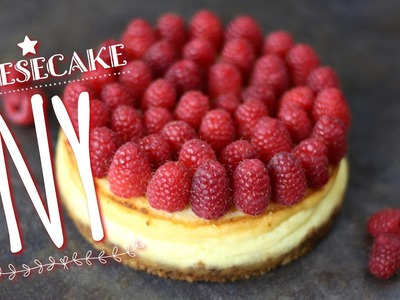 RECETTE CHEESECAKE NEW YORKAIS | DIY CHEESECAKE