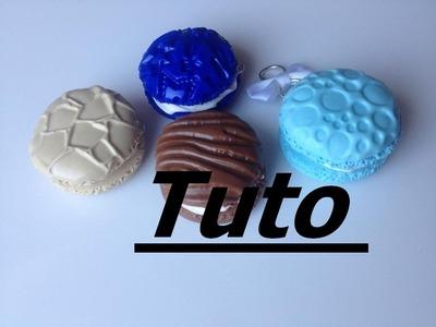 Tuto Fimo - Macaron à thème (Bois)