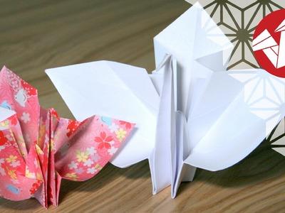 Tuto Origami Mariage - Kotobukizuru : Grue cérémonielle [Senbazuru]