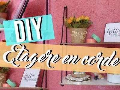 • [DIY] Etagère en corde + DIY Bonus •