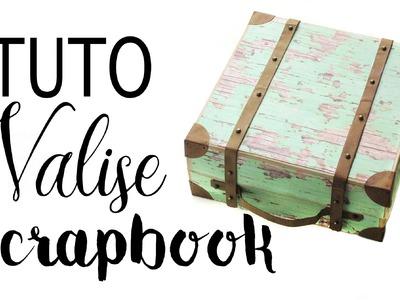 Tuto: valise à souvenirs scrapbook !