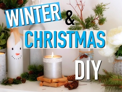 DIY Noël & Hiver. Winter & Christmas Room Decor (français)