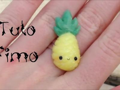 • [TUTO FIMO] L'ananas kawaii •