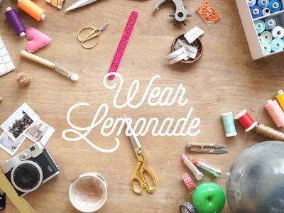 Comment coudre un short Carlotta Wear Lemonade