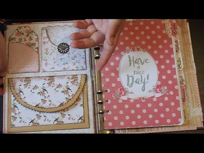 PLANNER Shabby Chic. Back To School.Projet DIY